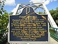 Secrest Ferry Bridge Placard side 1.JPG
