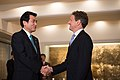Secretary Geithner Greets Japan's Finance Minister Jojima (8079677634).jpg