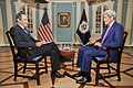 Secretary Kerry Speaks About Embassy Havana Opening, Cuba Policy With CNN Espanol's Oppenheimer (20334186678).jpg