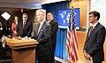 Secretary Pompeo, Secretary Esper, Attorney General Barr, and National Security Advisor O'Brien Hold a Press Availability (49995161761).jpg