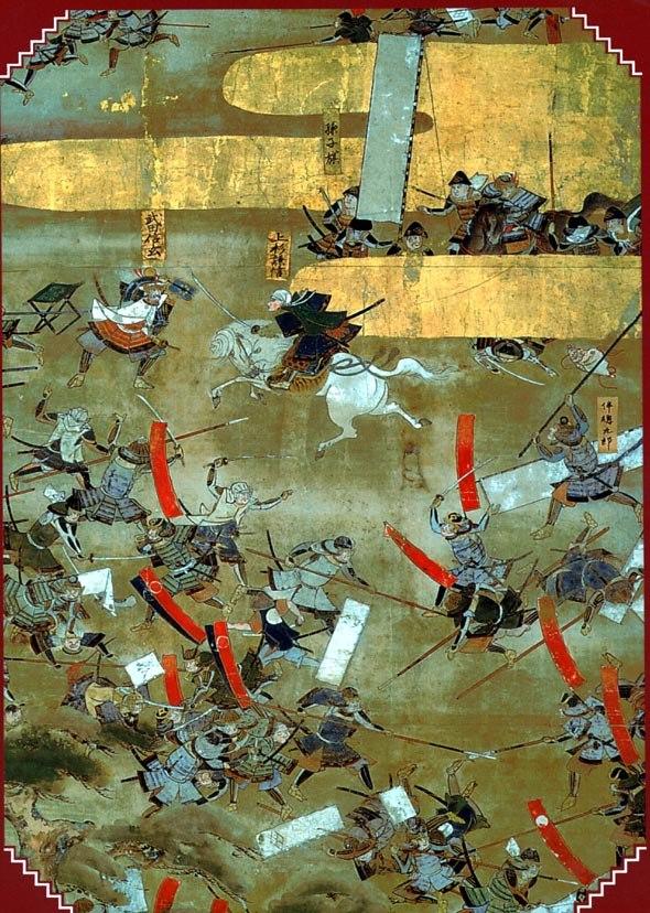 Sengoku period battle