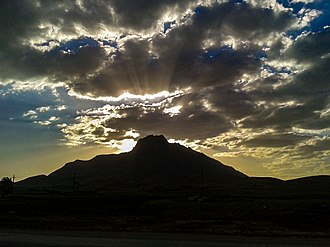 Fereydan - The Mountain that is located like a wall between Georgians in Fereydan (Fereydunshahr, Sibak, Choqyurt and Nehzatabad in south and Buin va Miandasht, Afus,Dashkasan and Aghche in north)