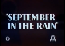 September in the Rain title card.png
