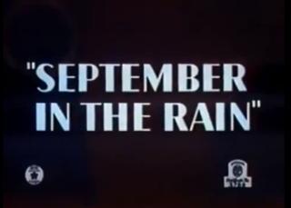 <i>September in the Rain</i> (film)
