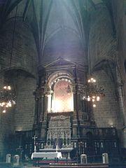sepulcre del bisbe Oleguer