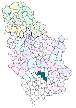 kursumlija mapa srbije Gornja Mikuljana   Wikipedia kursumlija mapa srbije