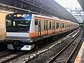 Series E233 T1 in Shinjuku Station.jpg
