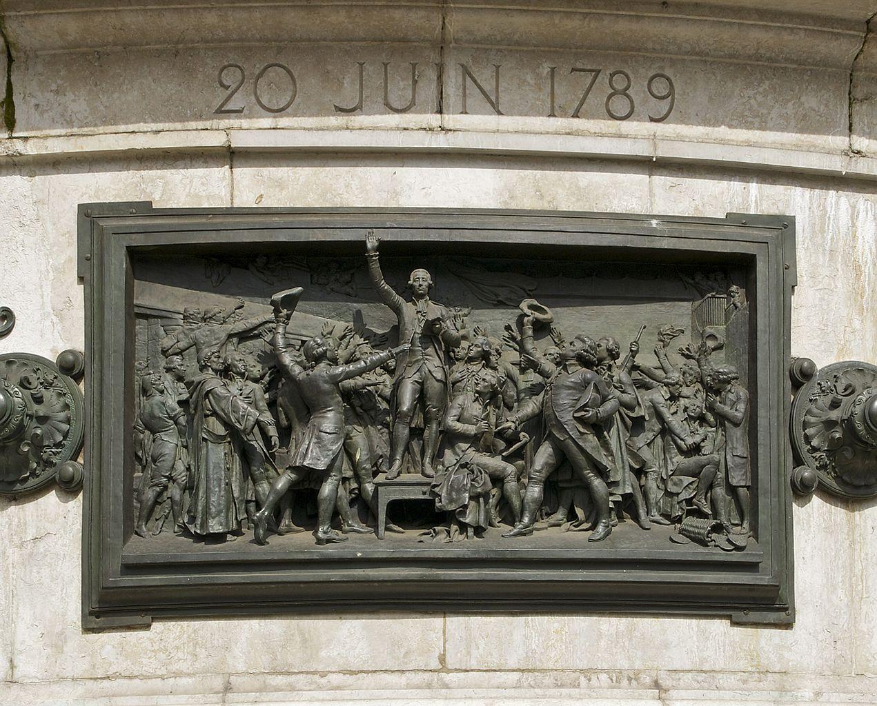 File:Serment jeu de Paume Tennis court oath 20 june 1789.jpg ...