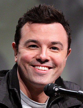 Seth MacFarlane - MacFarlane at the San Diego Comic-Con, July 2012
