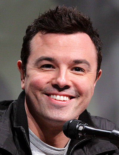 Picture of an author: Seth Macfarlane