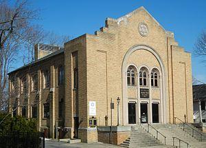 Congregation Beth Israel (Worcester, Massachusetts) - Pleasant Street building