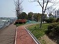 Shanghai Greenway running past children's playground.jpg
