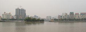 Shaoguan - Image: Shaoguanzhongxindao