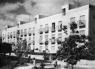 "Arieh Sharon - Workers' Homes, ""Meonot Ovdim"", 1936"