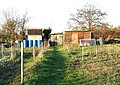 Sheds by allotment gardens - geograph.org.uk - 1605837.jpg