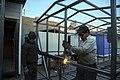 Shelters (building) in Iran Shelter کارگاه ساخت کانکس در ایران 07.jpg