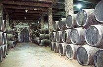 Sherry cellar, Solera system 2, 2003.jpg