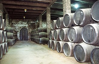 Winery - Sherry winery at Jerez de la Frontera