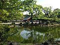 Shinjiike Pond and Chozuya of Munakata Grand Shrine (Hetsu Shrine).JPG