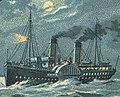 Ship named Cobra in 1897 art, from- Helgoland Postkarte 007 (cropped).jpg