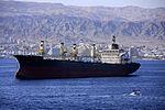 Ship on Red Sea, Aquaba, Jordan (3418652650).jpg