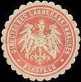 Siegelmarke Director des Landkrankenhauses Hersfeld W0342509.jpg