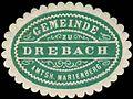 Siegelmarke Gemeinde zu Drebach - Amtshauptmannschaft Marienberg W0253656.jpg