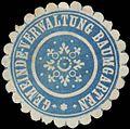Siegelmarke Gemeindeverwaltung Baumgarten W0382478.jpg