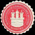 Siegelmarke Mineralogisch - Geologisches Institut - Hamburg W0226532.jpg