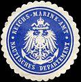 Siegelmarke Reichs - Marine - Amt - Nautisches Departement W0224077.jpg