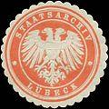 Siegelmarke Staatsarchiv Lübeck W0393524.jpg