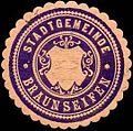 Siegelmarke Stadtgemeinde Braunseifen W0317682.jpg