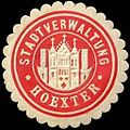 Siegelmarke Stadtverwaltung - Hoexter W0240534.jpg