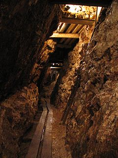 Silver mining Process of extracting silver from the ground