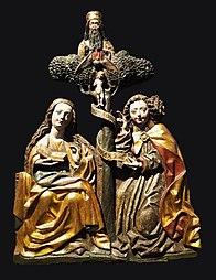 Zwiastowanie z Trójcą Świętą