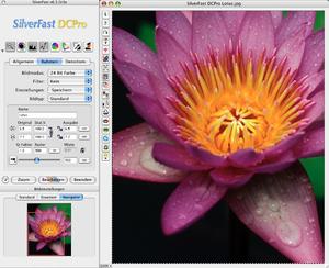SilverFast - Screenshot: SilverFast DC Pro