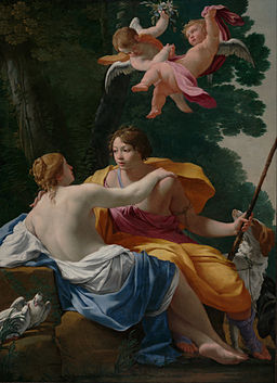 Simon Vouet (French - Venus and Adonis - Google Art Project