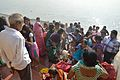 Sindoor Play - Chhath Puja Ceremony - Ramkrishnapur Ghat - Howrah 2013-11-09 4169.JPG