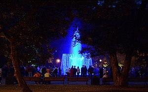 Singing fountain, Sereikiškės park, Vilnius