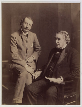 Hugh John Macdonald - Macdonald with Charles Tupper, 1900