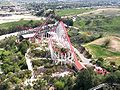 Six Flags Magic Mountain Viper and X2 from Sky Tower cropped version.jpg