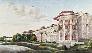 Qudsia Begum - Her palace on the banks of the river Yamuna was commissioned in 1748