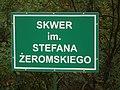 Skwer imienia Stefana Żeromskiego w Kielcach.jpg