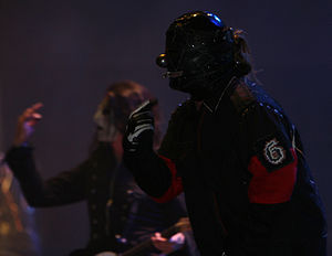 Mayhem Festival 2008 - Slipknot performing on the opening date in Auburn, Washington