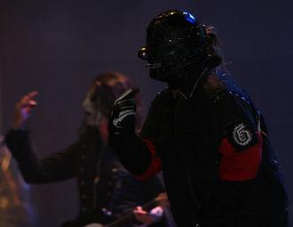 Mayhem Festival 2008 - Slipknot performing on the opening date in Auburn, Washington