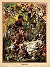 Snow White illustration from german children%27s book 1919 (3917968514)
