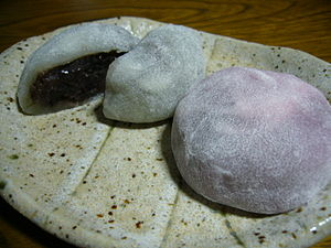 Soft-rice-cake-stuffed-with-sweetened-bean-jam,daifuku,katori-city,japan.JPG