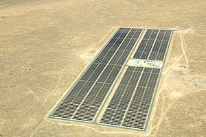 Solar power in Africa - Solar Power Plant near Keetmanshoop, Namibia