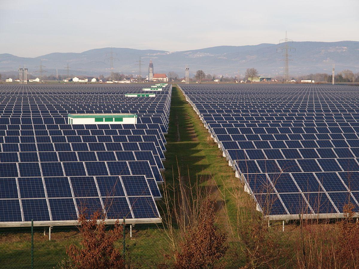 Strasskirchen Solar Park Wikipedia
