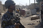 Soldiers; Iraqi police discover weapons cache DVIDS207403.jpg